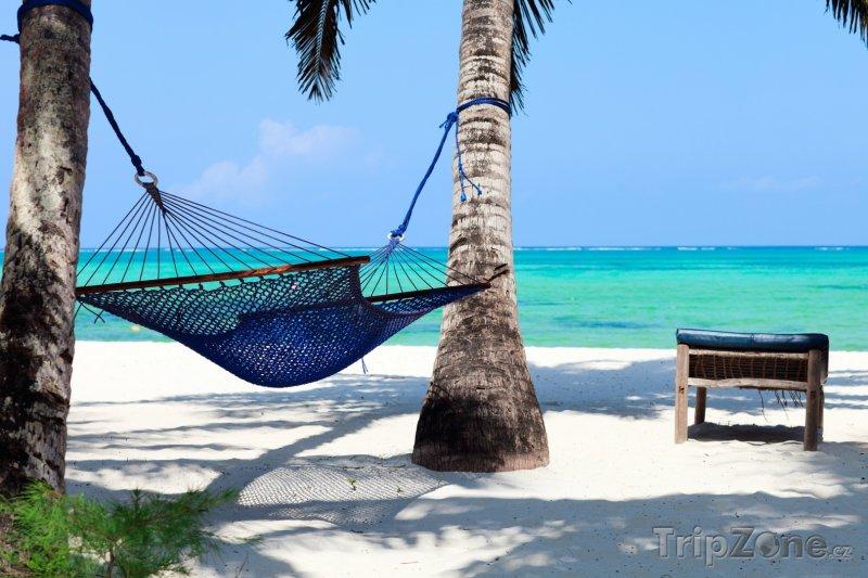 Fotka, Foto Pláž na Zanzibaru lákající k odpočinku (Tanzanie)