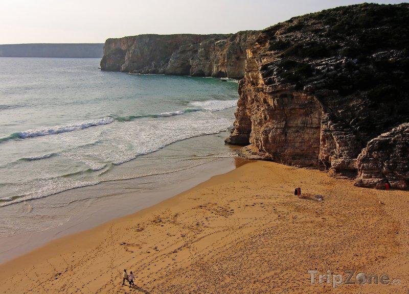 Fotka, Foto Pláž Sagres v Algarve (Portugalsko)