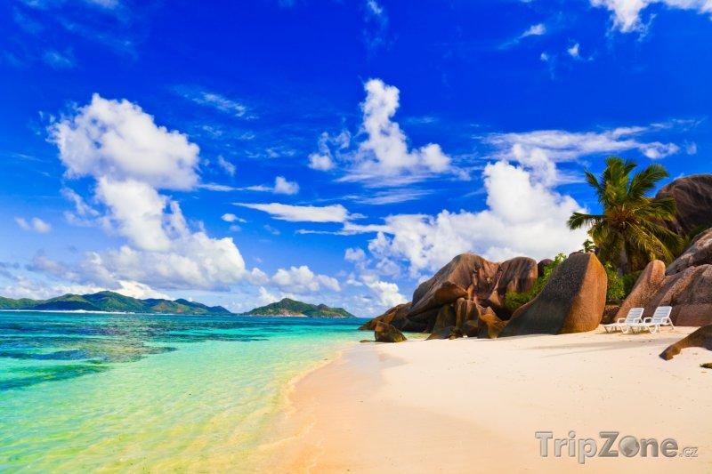 Fotka, Foto Pláž Source d'Argent (Seychely)