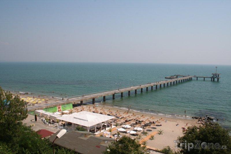 Fotka, Foto Pláž v Burgasu (Centrální část pobřeží, Bulharsko)