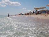 Pláž ve městě Hammamet