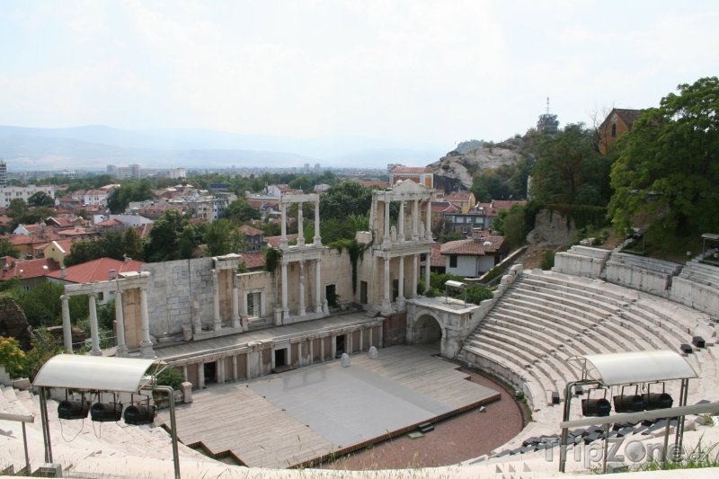Fotka, Foto Plovdiv, antický amfiteátr (Bulharsko)