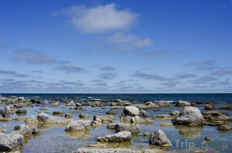 Fotka, Foto Pobřeží ostrova Gotland (Švédsko)