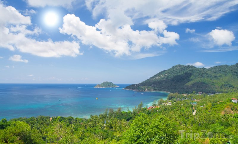 Fotka, Foto Pobřeží ostrova Ko Tao (Thajsko)