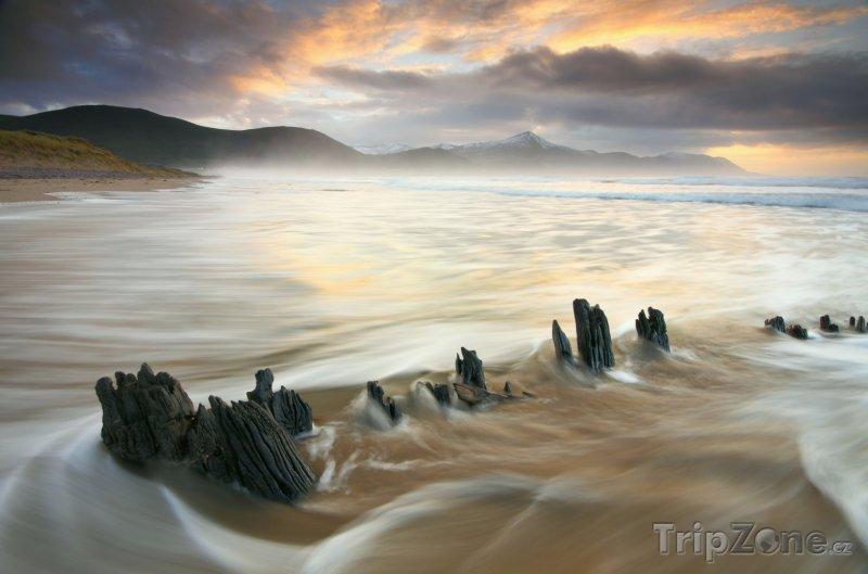 Fotka, Foto Pobřeží v hrabství Kerry (Irsko)