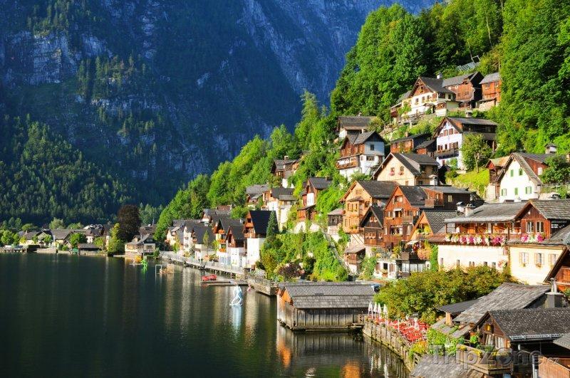Fotka, Foto Pohádková vesnice Hallstatt (Rakousko)
