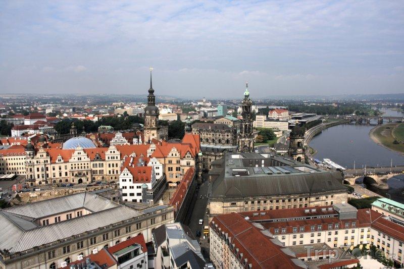 Fotka, Foto Pohled na Drážďany (Německo)