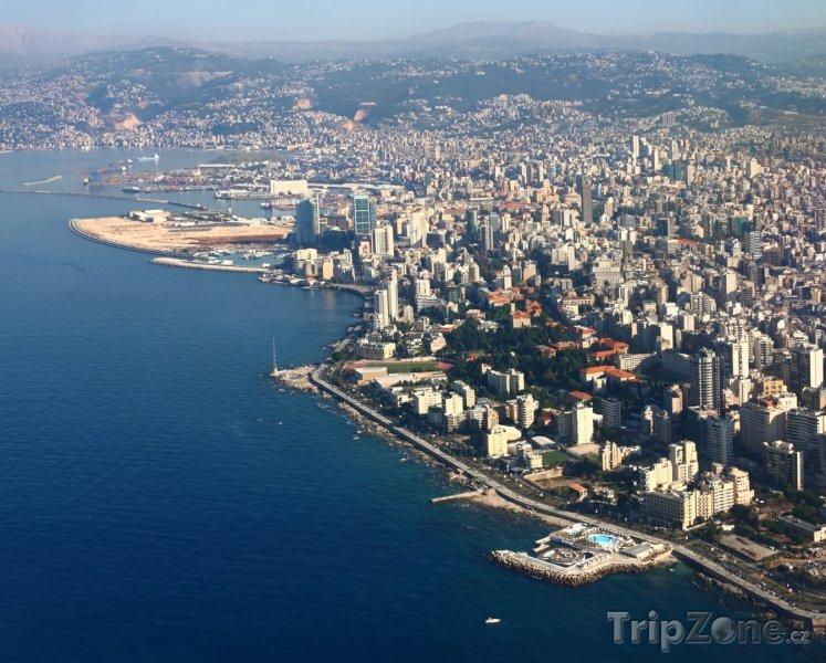 Fotka, Foto Pohled na hlavní město Bejrút (Libanon)