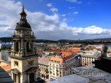 Pohled na město ze sv. Štěpána