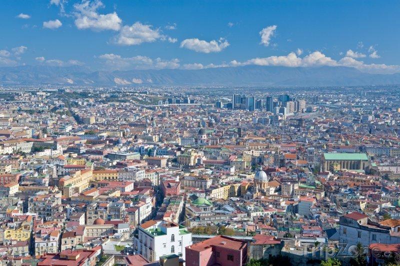 Fotka, Foto Pohled na Neapol (Neapol, Itálie)