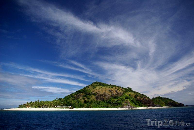 Fotka, Foto Pohled na ostrov Matamanoa (Fidži)