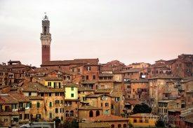 Pohled na Sienu