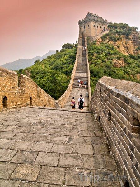 Fotka, Foto Pohled na Velkou čínskou zeď (Čína)
