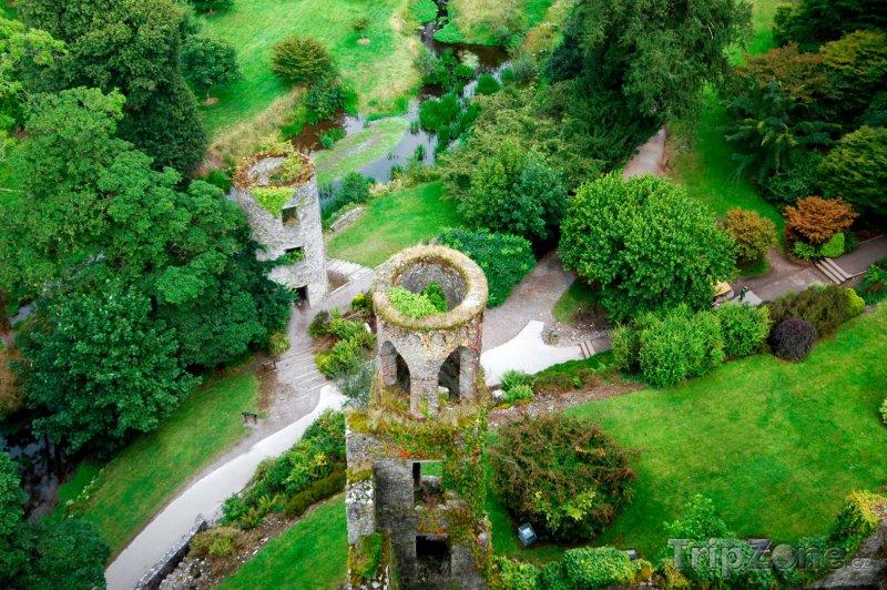 Fotka, Foto Pohled z vrchu hradu Blarney (Irsko)