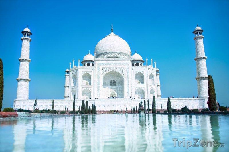 Fotka, Foto Pomník Tádž Mahal (Indie)