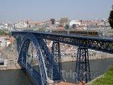 Porto, most Ponte Luís I přes řeku Douro
