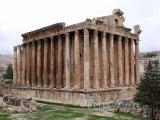 Pozůstatky chrámu Baahus v Baalbecku