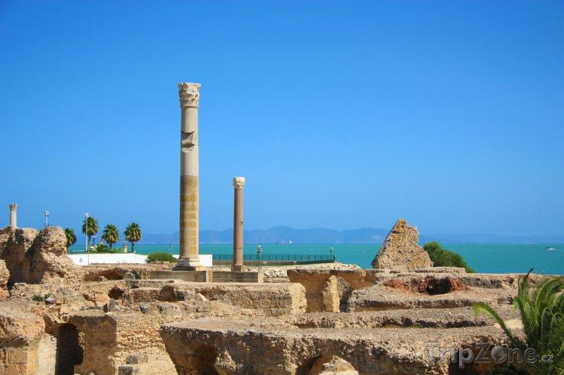 Fotka, Foto Pozůstatky starověkého města Kartága (Tunisko)