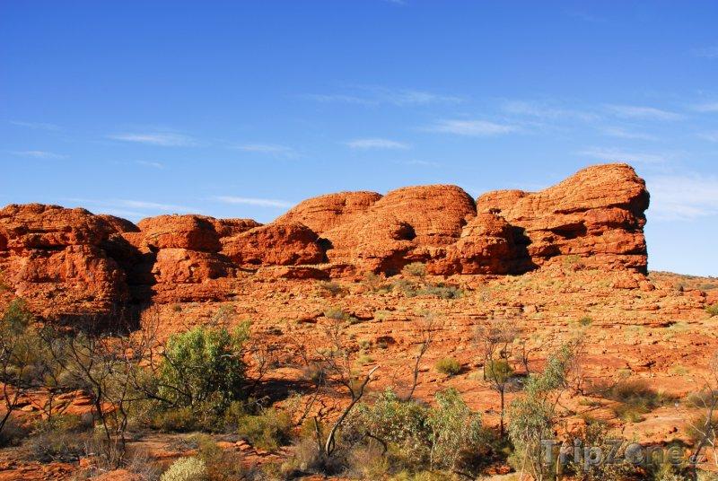 Fotka, Foto Překrásný Kings Canyon (Austrálie)