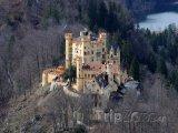 Překrásný zámek Hohenschwangau