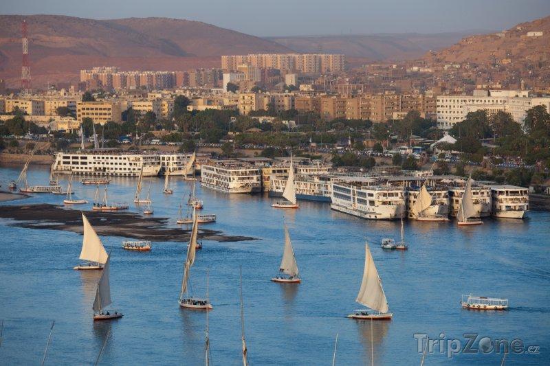 Fotka, Foto Přístav Asuán (Egypt)