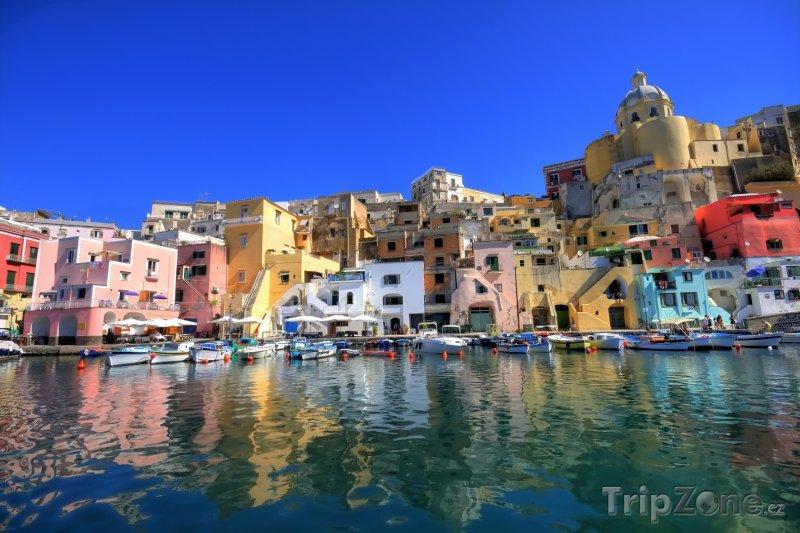 Fotka, Foto Přístav Procida v Kampánii (Itálie)
