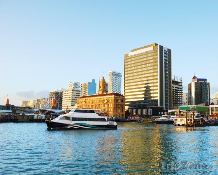 Fotka, Foto Přístav v Aucklandu (Nový Zéland)