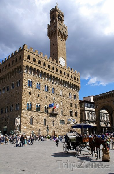Fotka, Foto Radnice Palazzo Vecchio (Florencie, Itálie)