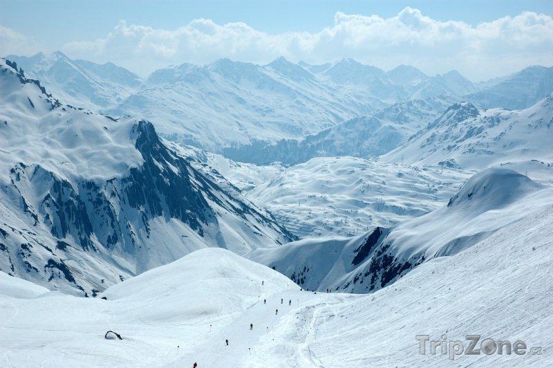 Fotka, Foto Rakouské Alpy, St. Anton (Rakouské Alpy, Rakousko)