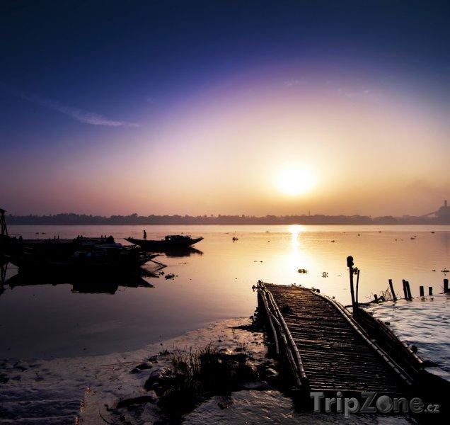 Fotka, Foto Řeka Ganga (Indie)