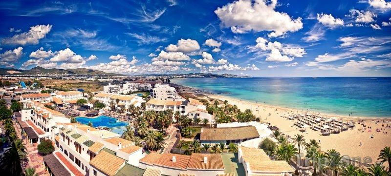 Fotka, Foto Rezort Playa d'en Bossa na Ibize (Ibiza, Španělsko)