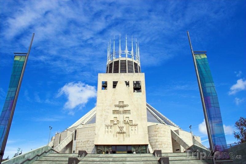 Fotka, Foto Římskokatolická katedrála v Liverpoolu (Liverpool, Velká Británie)