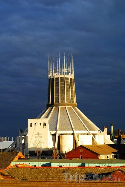 Fotka, Foto Římskokatolická katedrála (Liverpool, Velká Británie)