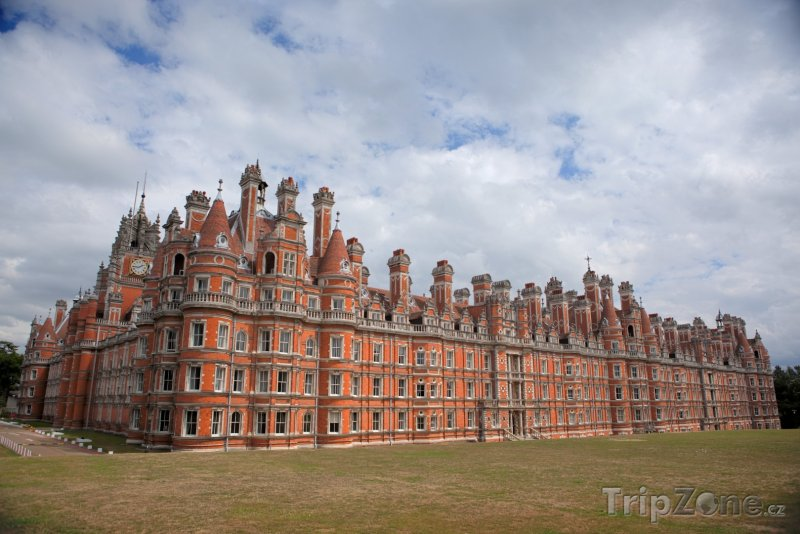 Fotka, Foto Royal Holloway, University of London (Londýn, Velká Británie)