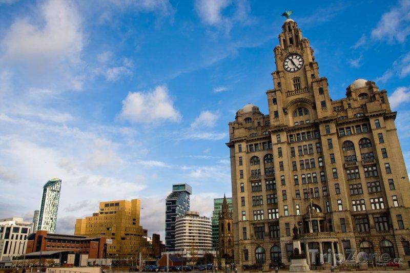 Fotka, Foto Royal Liver Building (Liverpool, Velká Británie)