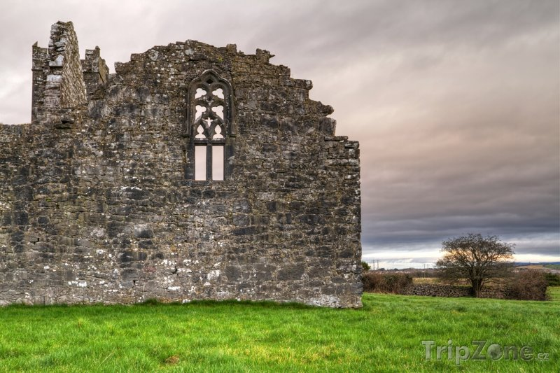 Fotka, Foto Ruiny augustiniánského kláštera v hrabství Clare (Irsko)