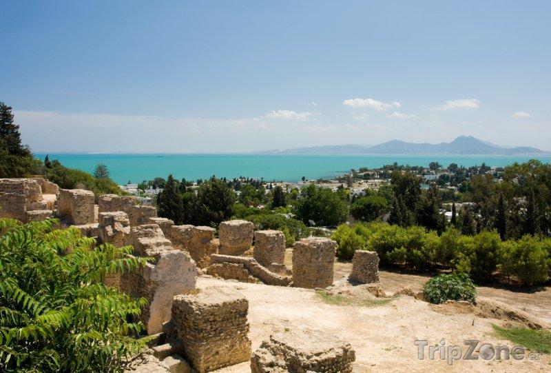 Fotka, Foto Ruiny Kartága (Tunisko)