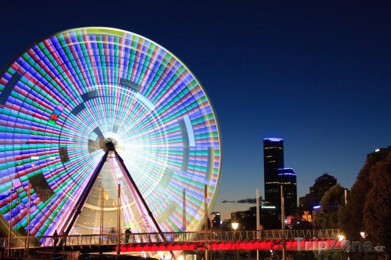 Fotka, Foto Ruské kolo v Melbourne (Austrálie)