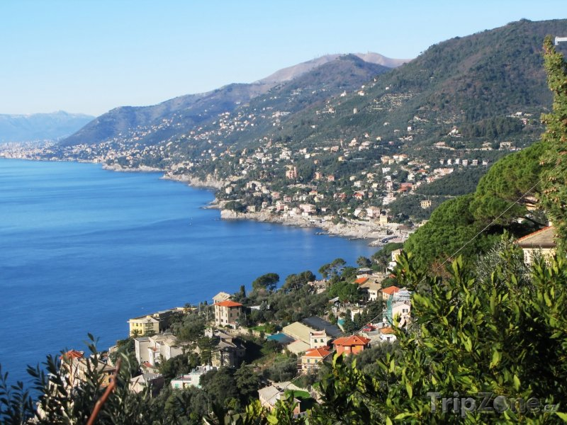 Fotka, Foto Rybářská vesnička Camogli (Itálie)