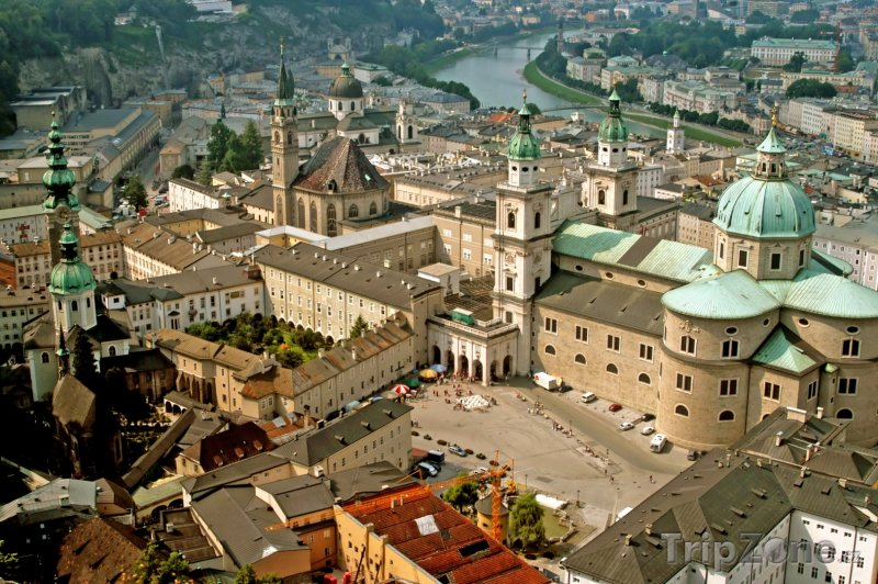 Fotka, Foto Salcburk, panoráma města (Rakousko)
