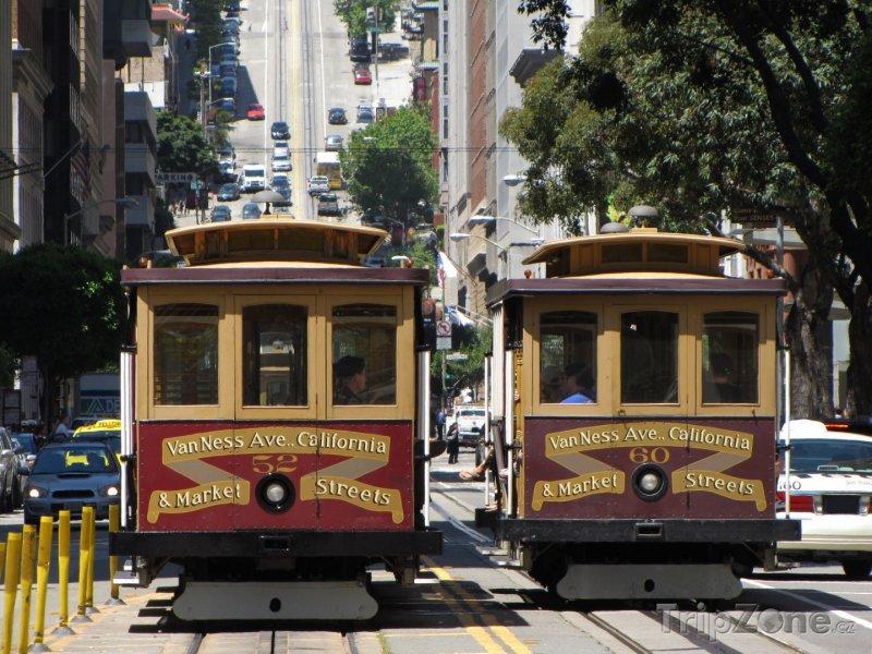 Fotka, Foto San Francisco, tramvaje (USA)