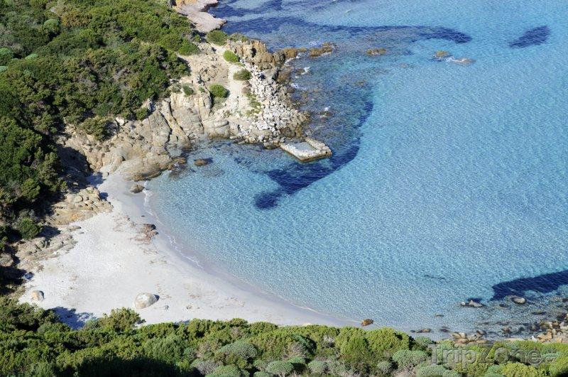 Fotka, Foto Sardinie - pláž Porto Giunco (Sardinie, Itálie)