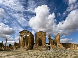 Sbeitla, ruiny chrámu