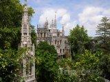 Sintra, palác Quinta da Regaleira