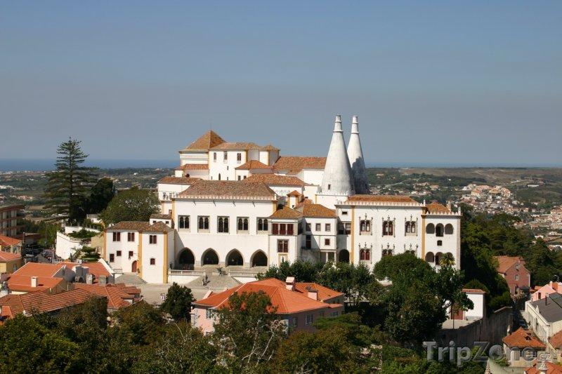 Fotka, Foto Sintra, Palácio da Vila (Portugalsko)