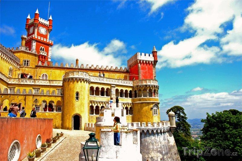 Fotka, Foto Sintra, Palácio Nacional da Pena (Portugalsko)