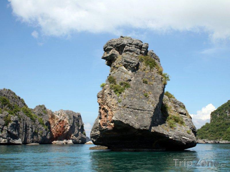 Fotka, Foto Skaliska v oblasti Ang Thong (Thajsko)