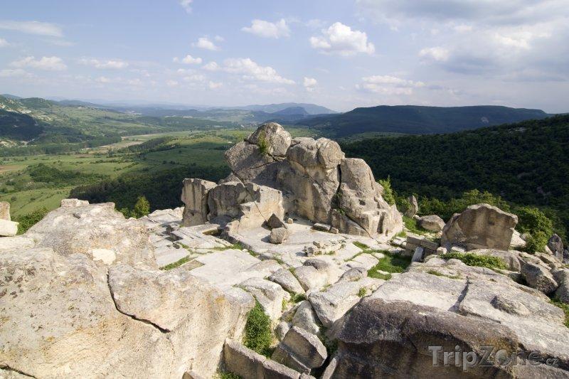 Fotka, Foto Skalní svatyně Perperikon (Bulharsko)