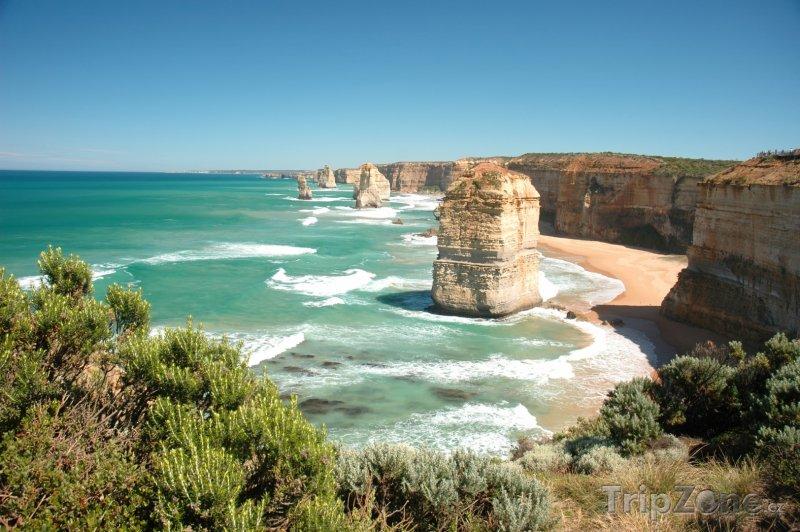 Fotka, Foto Skalní útvar Twelve Apostles (Austrálie)