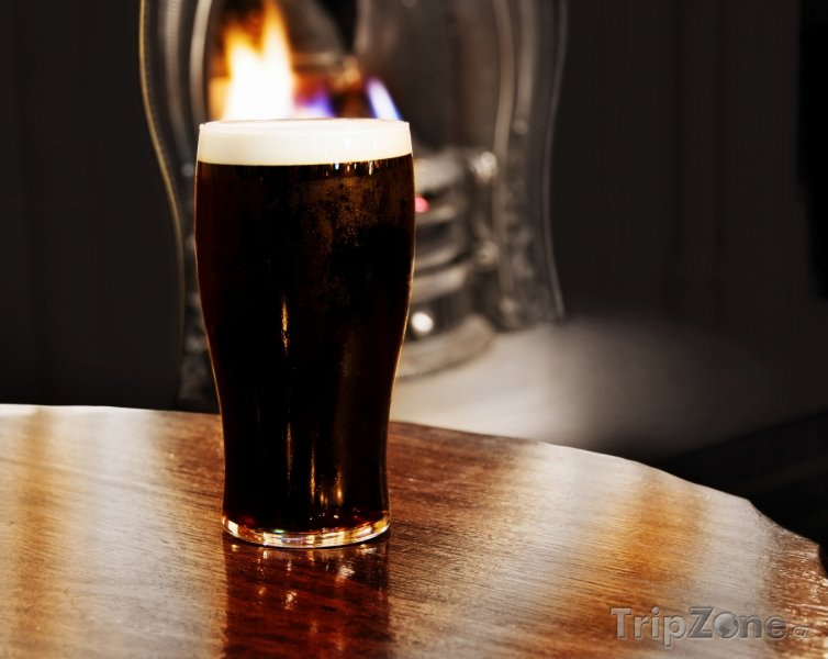 Fotka, Foto Sklenice piva Guinness (Irsko)